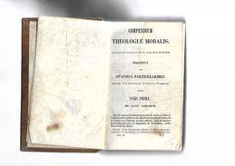 Livre Ancien 1857  Compendium Théologiae Moralis Tomus II - Livres, BD, Revues