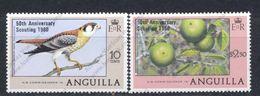 Anguilla, Yvert 348&349, Scott 387&388, MNH - Anguilla (1968-...)
