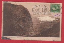 Honolulu  -  Palschlucht -- 24 Jan 1913  --  Abimée - Honolulu