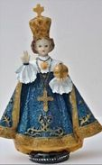 - Prager Jesulein ,  Prager Jesuskind - Prazske Jezulatko  , Infant Jesus Of Prague ,  Niño Jesús De Praga Blue Dressing - Saisons & Fêtes