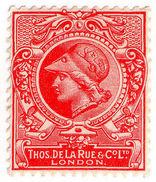 (I.B) Cinderella : De La Rue & Co - Minerva Head Essay - 1840-1901 (Victoria)