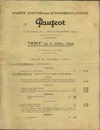 92 - LEVALLOIS-PERRET - PUBLICITE PEUGEOT - France