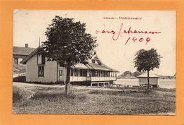 Sobadet Fredriksvaern Norway 1909 Postcard - Norvegia
