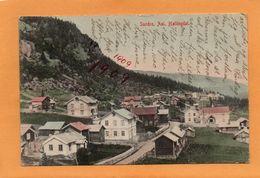 Sundre Aal Hallingdal Norway 1909 Postcard - Norwegen