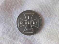 Poland: 1 Kopek - Occupation De La Pologne 1916 - Monetari / Di Necessità