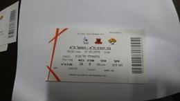 Israel-match Tickets-(14)-foot Ball-bnei Yehuda-hapoel Tel Aviv-(7.5.2016)-(number-5280706)-payler - Match Tickets