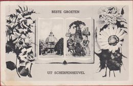 Beste Groeten Uit Scherpenheuvel 1950 - Scherpenheuvel-Zichem