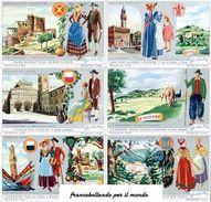Chromo Liebig Sang. 1609 ITA La Toscana ANNO 1954 - Liebig