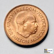 Sierra Leona - 1/2 Cent - 1964-UNC - Sierra Leona