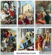 Chromo Liebig Sang. 1611 ITA La Vita Di S. Ambrogio ANNO 1954 - Liebig