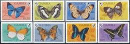 Gambia  Butterflies - Vlinders