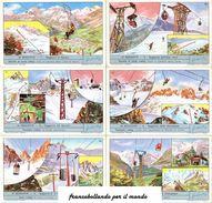 Chromo Liebig Sang. 1765 ITA Le Seggiovie ANNO 1961 - Liebig