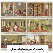 Chromo Liebig Sang. 1457 ITA L'INDUSTRIA DEL FORMAGGIO 1947 - Liebig