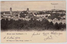 """1904, """" Auerbach I. V. """"  , A167 - Auerbach (Vogtland)"""