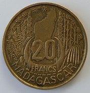 Madagascar - 20 Francs 1953 - - Madagascar