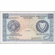 TWN - CYPRUS 41c8 - 250 Mils 1.6.1982 S/81 - 003671 UNC - Cipro