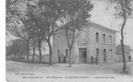 Saint-Geoge-Chéray. Le Bureau De Poste. - France