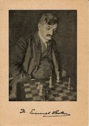 Emannuel Lasker - Sendenkarte 1968 - Schach