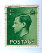 GRAN BRETAGNA, GREAT BRITAIN, RE EDOARDO VII, KING EDWARD VII, 1936, FRANCOBOLLI USATI   Yvert Tellier 205..Scott 230 - Usati