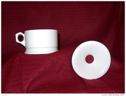 CERAMIQUES - FAIENCES - CRACHOIR ANCIEN EN DIGOIN & SARREGUEMINES (Jamais Utilise Dans Son Emballage En Craft D'origine) - Sarreguemines (FRA)