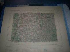 CARTE GEOGRAPHIQUE _ G - Format  45 X 57  De ALLIER _LOIRE_PUY DE DOME _Feuille  LAPALISSE_XIX_ 24 ) En 1894 - Geographische Kaarten