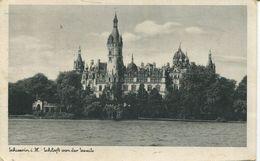 Schwerin . M. - Schloss Von Der Seeseite 1943 (001770) - Schwerin