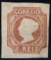 Portugal, 1853, # 1, Com Certificado, MNG - 1853 : D.Maria