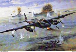Mosquito Bomber  -  Art Card  -  CPM - 1939-1945: 2nd War