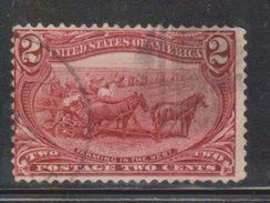 USA Scott # 286 Used - Oblitérés