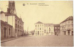 GRAMMONT - GEERAARDSBERGEN - Statieplein - Place De La Station - Geraardsbergen