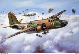 Wellington Bomber  -  Art Card  -  CPM - 1939-1945: 2nd War