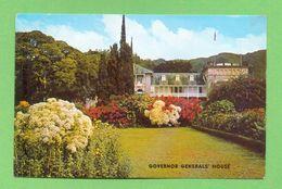 CPM  TRINIDAD  ~   Governor General's House  ( 1963 )  2 Scans - Trinidad