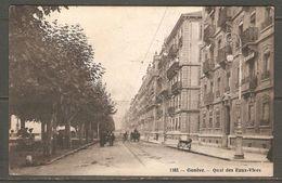 Carte Postale De 1915 ( Genève / Quai Des Eaux-Vives ) - GE Genève