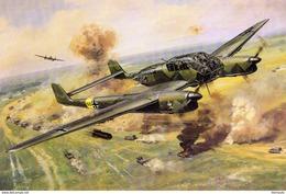 Focke-Wulf FW189  -  Art Card  -  CPM - 1939-1945: 2nd War