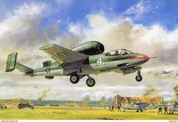 Heinkel He162 Experimental Jet  -  Art Card  -  CPM - 1939-1945: 2nd War