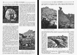 """EL TORCAL D'ANTEQUERA  """" ANDALOUSIE  """"  1909 - Non Classificati"""