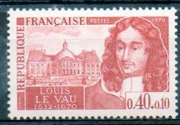 FRANCE 1970 - (**) - N° 1623 à 1628 - (Personnages Célmèbres) - France