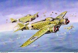 Savoia-Marchetti SM79 (Italian Air Force)  -  Art Card  -  CPM - 1939-1945: 2de Wereldoorlog