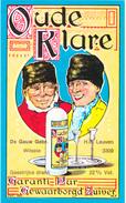Distillerie  De Gauw Wilsele  'Oude Klare' H.R.L.3309 / Leuven Belgie - Andere Verzamelingen