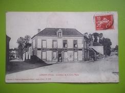 13057 CPA LONGNY Au PERCHE : Carrefour De La Croix Verte - Longny Au Perche