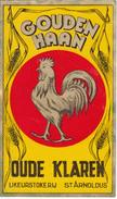 Likleurstokerij  St. Arnoldus Tiegem - Gouden Haan / Oude Klaren. Belgique - Andere Verzamelingen