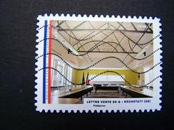 N° 1203 BRUNSTATT OBLITERE ANNEE 2015 SERIE DU CARNET LES MAIRIES DE FRANCE AUTOCOLLANT ADHESIF - France