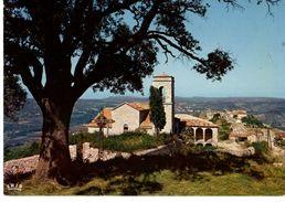 07----SAMPZON--la Pittoresque église Du Rocher De SAMPZON Environs De Ruoms--voir 2 Scans - France