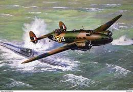 Handley Page Hampden AE116  -  Art Card  -  CPM - 1939-1945: 2nd War