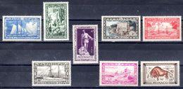 1949; Centenaire De La Naissance Du Prince Albert Ier, YT 324 - 331, Neuf **, Lot 49404 - Nuovi