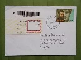 2101 - LETTER MACEDONIA, SKOPJE - Macedonia