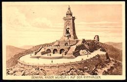 A9217 - Kyffhäuser Denkmal - Kaiser Wilhelm I. - Gel 1923 - Monuments