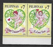 PHILIPPINES 2006  ST VALENTINE'S DAY SET MNH - Philippines