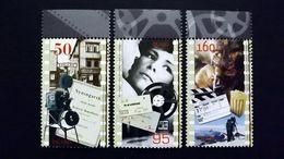Island 1120/2 **/mnh, 100 Jahre Filmvorführungen In Island - 1944-... Republik