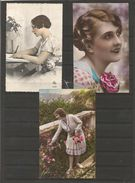 Cartes Années Diverses Représentants Des Jeunes Femmes - Cartes Postales